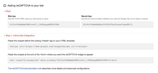 ウェブサイトにキャプチャを導入する方法【reCAPTCHAの使い方】