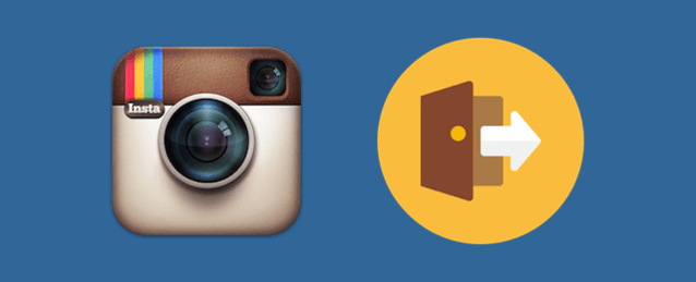 Instagramでログアウト(アカウント変更)する方法