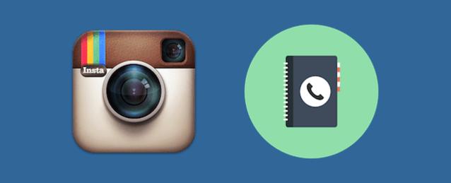 Instagramの友人検索機能の使い方 (連絡先から検索)