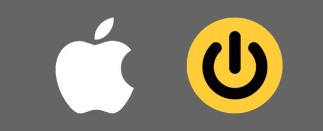 iPhoneの電源を切る、つける方法