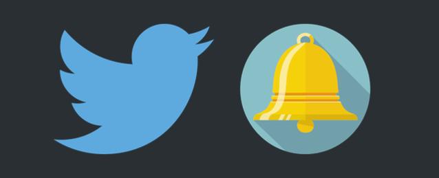 Twitterで、プッシュ通知を設定する方法