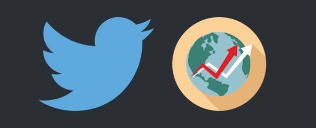 Twitterのトレンドビューア